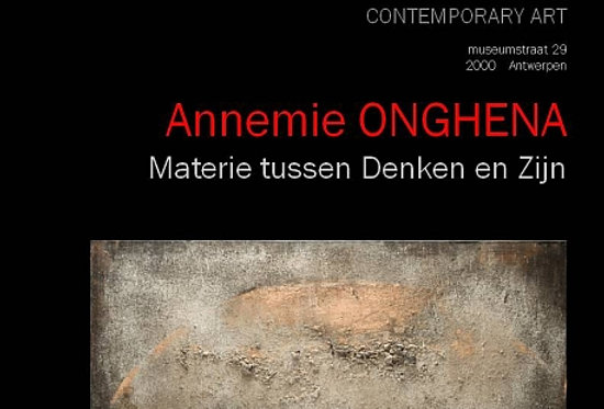 Annemie Onghena - Materie tussen Denken en Zijn