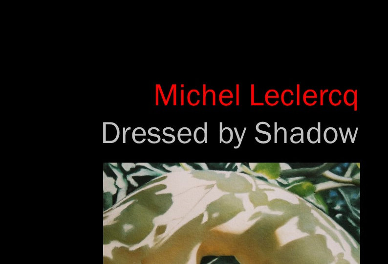 Michel Leclercq - Dressed by Shadow - 2017