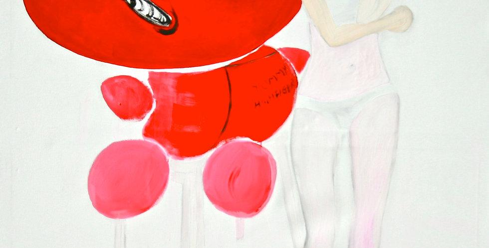 New Court Ladies - Noir Rouge et Blanc Nr. 23    (Cat N° 2162)