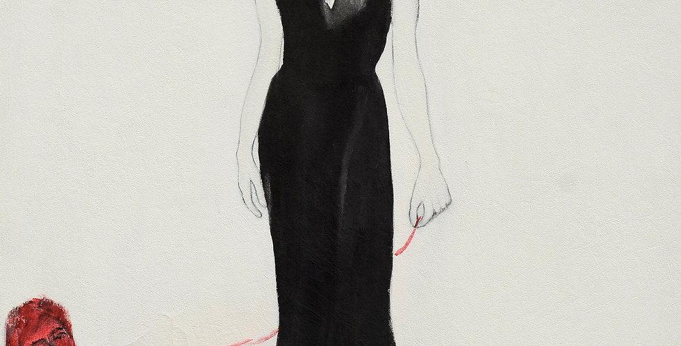 New Court Ladies - Noir Rouge et Blanc Nr. 15    (Cat N° 2110)