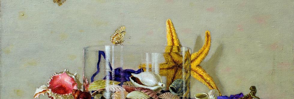 Still Life with Lizard    (Cat N° 5489)