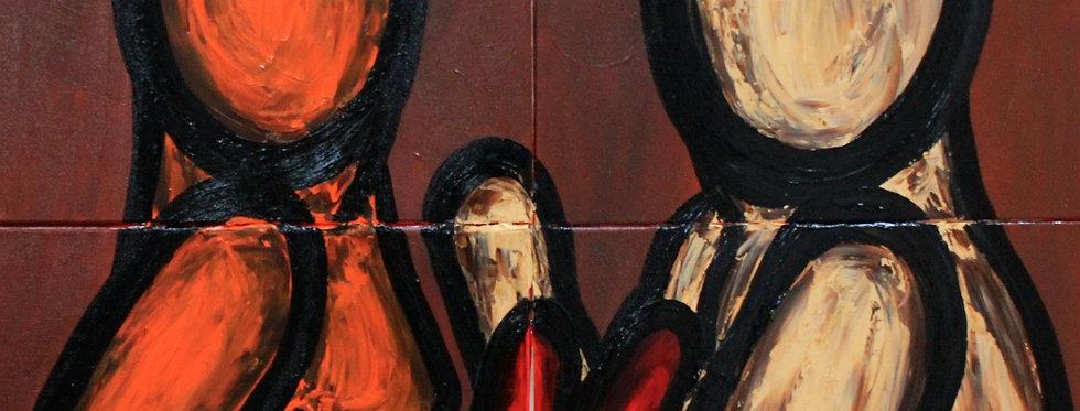 The three artists    (Cat N° 5942)