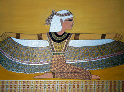 BaumVogelFrau, ägyptisch