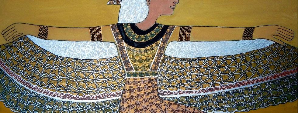 BaumVogelFrau, ägyptisch    (Cat N° 5853)