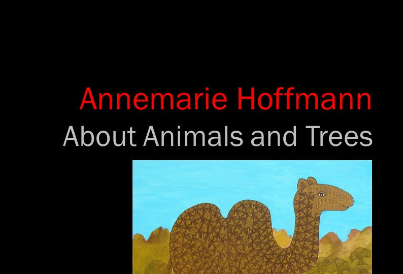 Annemarie Hoffmann - About Animals and Trees