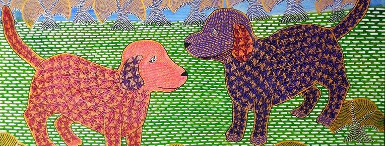 Junge Baumhunde    (Cat N° 6407)