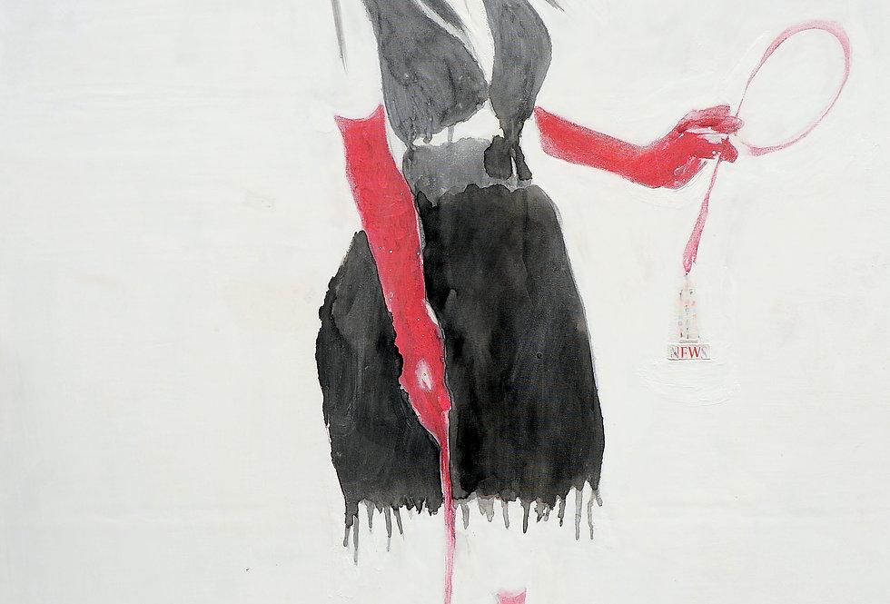 New Court Ladies - Noir Rouge et Blanc - Nr.4    (Cat N° 1981)
