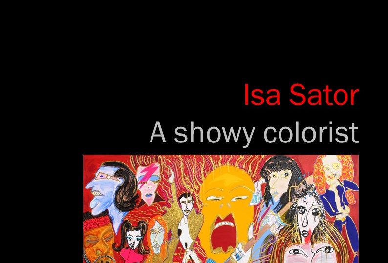 Isa Sator - A showy colorist