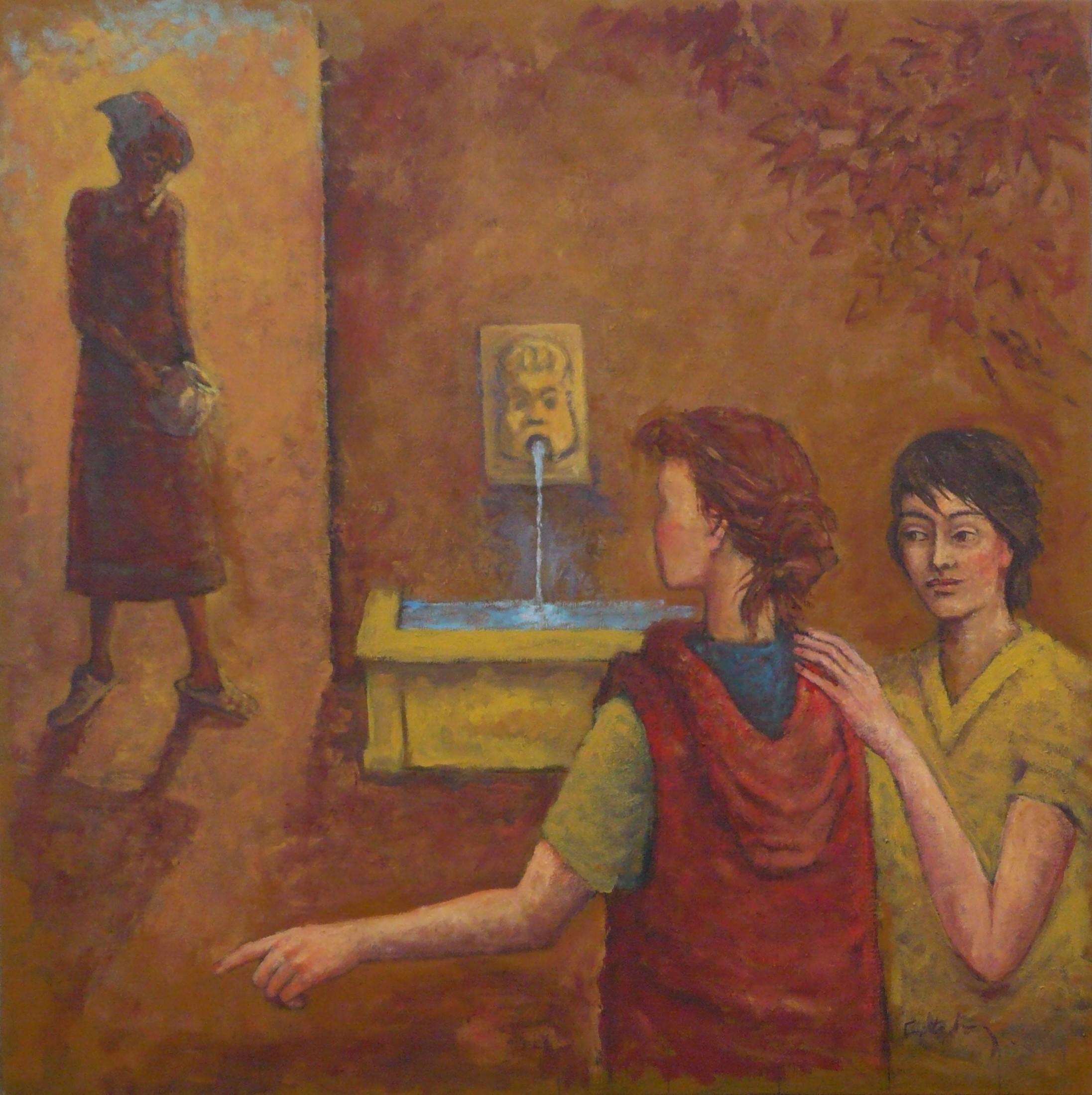 Femmes à la fontaine (Corse n° 3)
