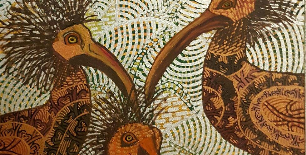 BaumSchrapnells (birds)    (Cat N° 5837)