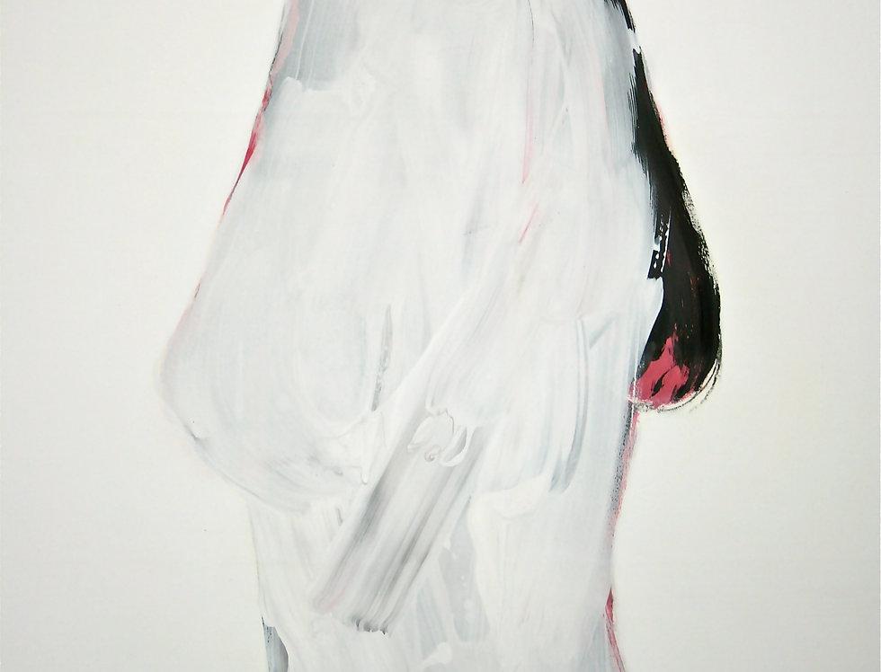 New Court Ladies - Noir Rouge et Blanc - Nr.6    (Cat N° 1983)