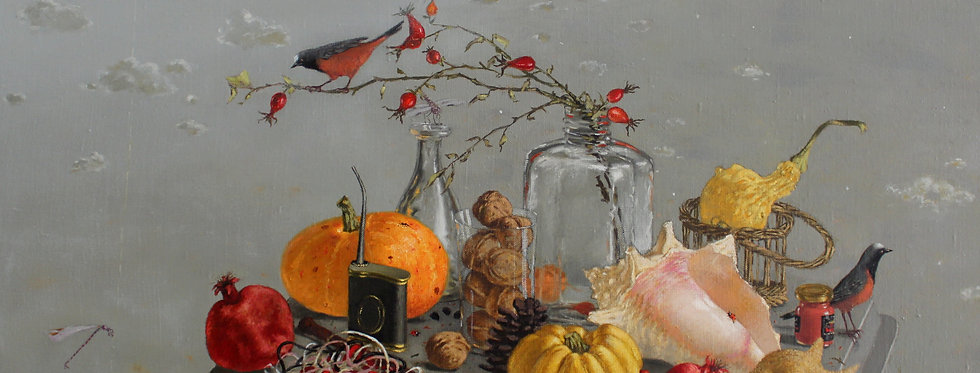 Still Life with Redstarts    (Cat N° 6667)