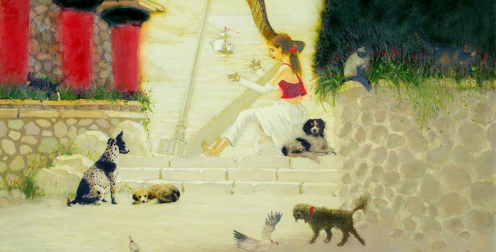 """Kretas meodija"" (Crete tune)    (Cat N° 5463)"