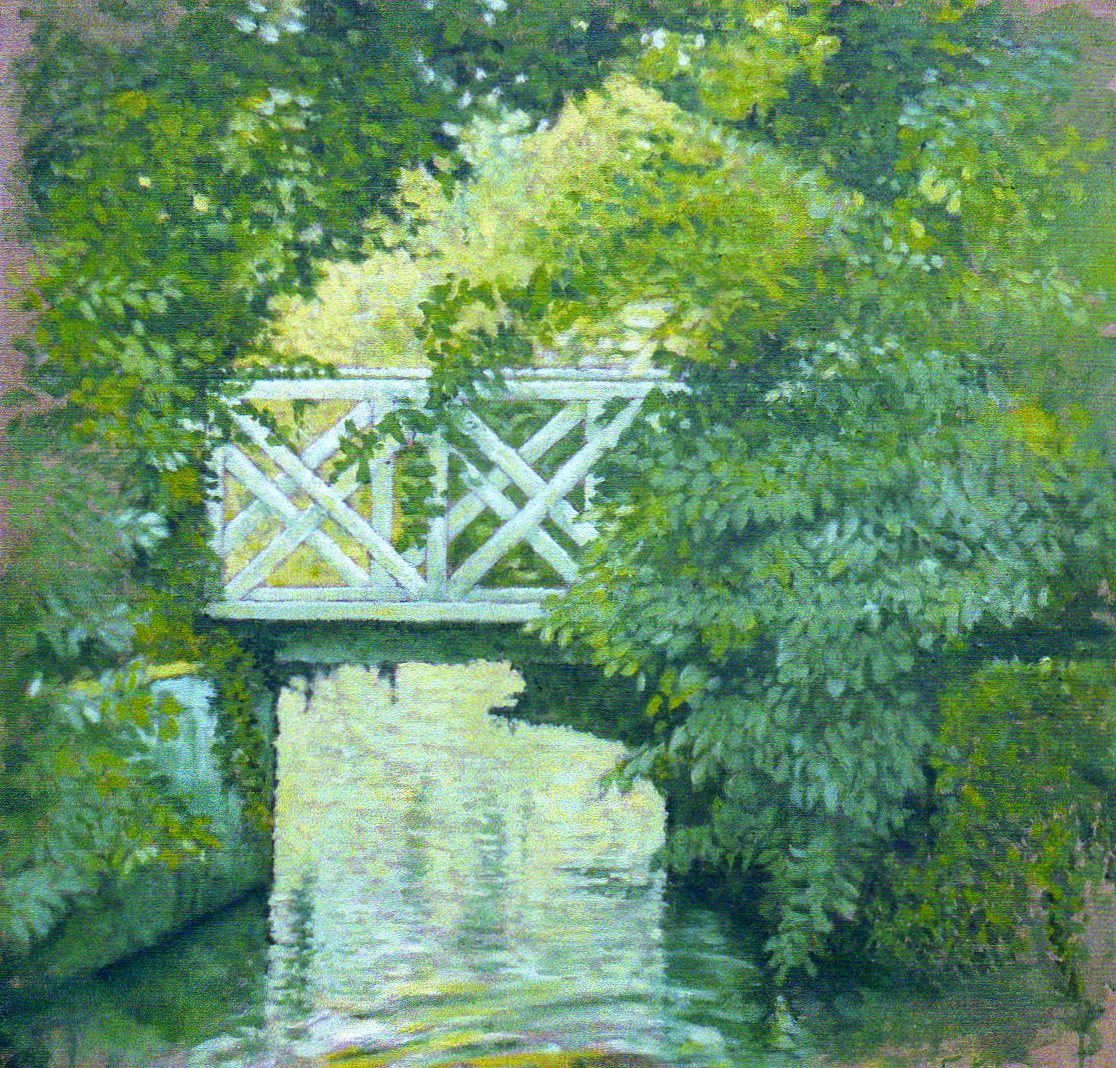 Petit pont vert