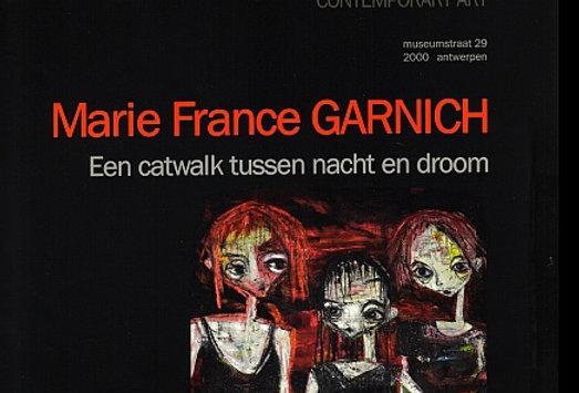 Marie-France Garnich - Een catwalk tussen nacht en droom