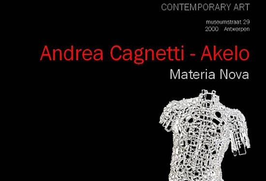 Andrea Cagnetti - Materia Nova - 2012