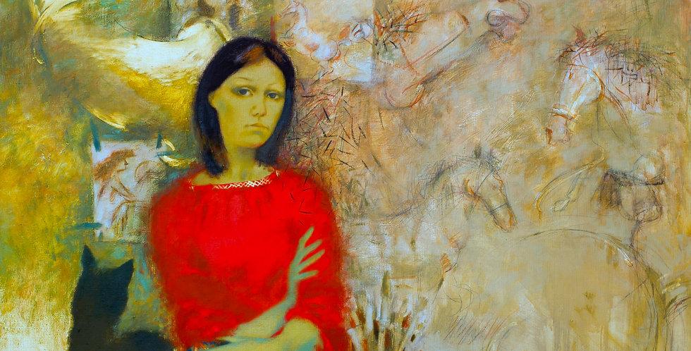 """""""Pasportrets"""" Tatyana (Self portrait)    (Cat N° 5456)"""