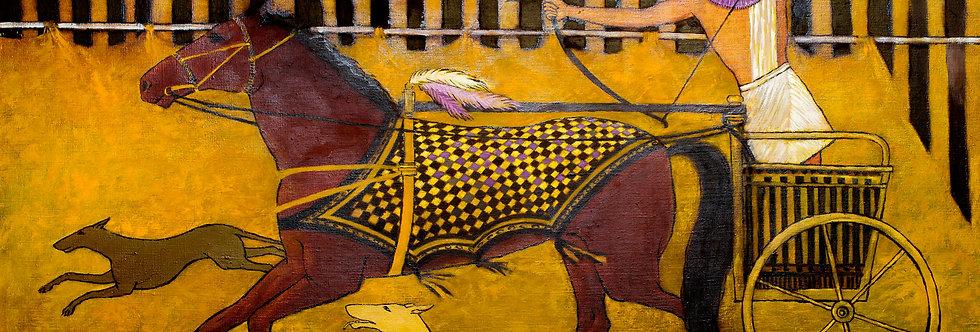 """Pharaons hunting"" (ancient hunt)    (Cat N° 5468)"