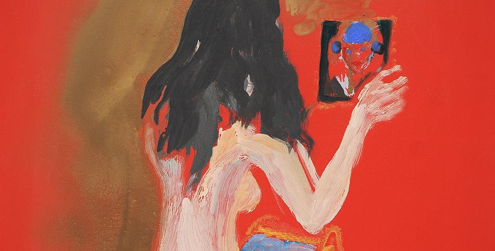 New Court Ladies - Noir Rouge et Blanc Nr. 24    (Cat N° 2163)