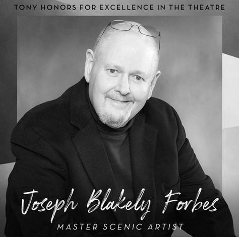 Scenic Art Studios Founder Joseph Blakely Forbes to Receive Tony Honor