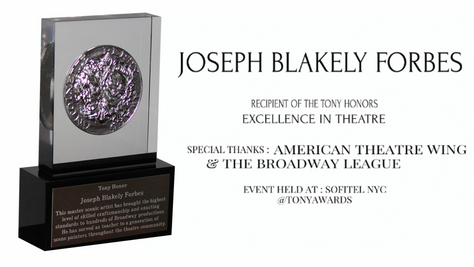 Scenic Art Studios Founder Receives Tony Honor for Excellence in Theatre