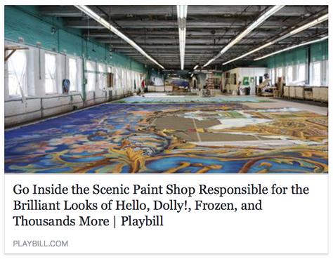 PLAYBILL visits Scenic Art Studios