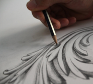 Drawing the Acanthus Leaf