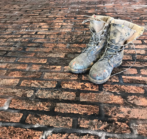 Bootsie - True story of a scenic's boots.