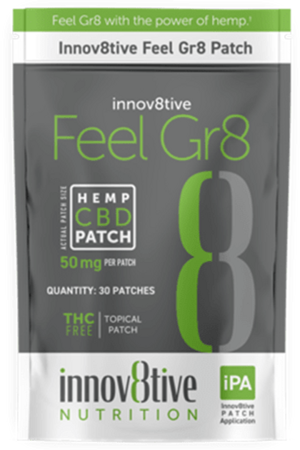 Innov8tive Feel Gr8 (CBD Patch)