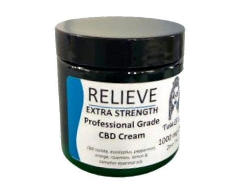 Relieve Extra Strength CBD Cream 1000mg