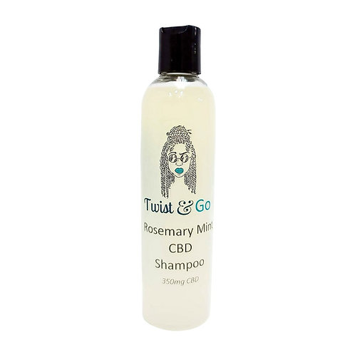 Rosemary Mint CBD Shampoo 350 mg