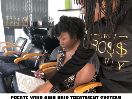 Natural Hair Treatment Systems