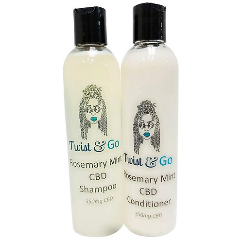 Rosemary Mint Shampoo & Conditioner Set