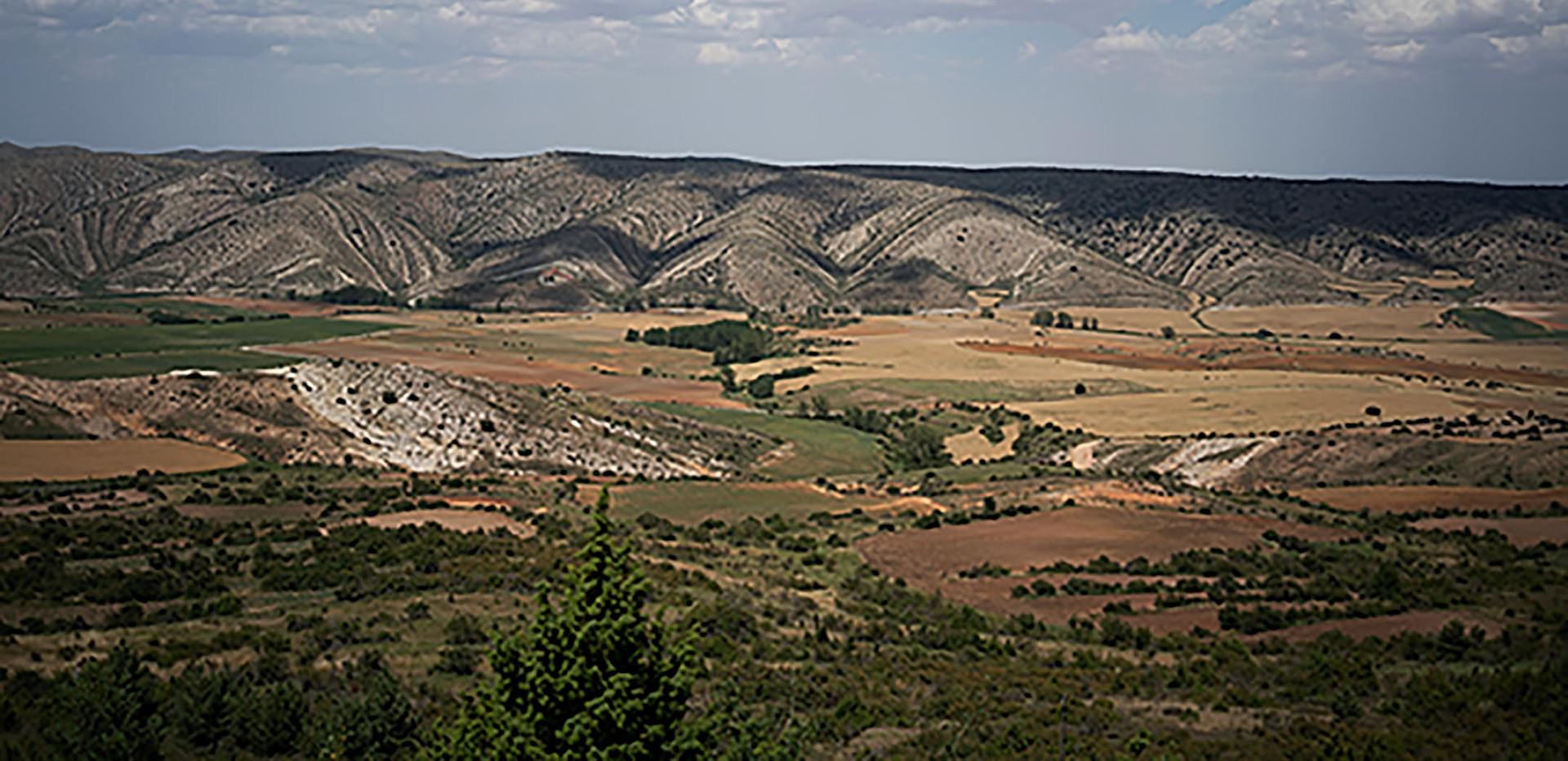 Montañas con falla / Rock mountains