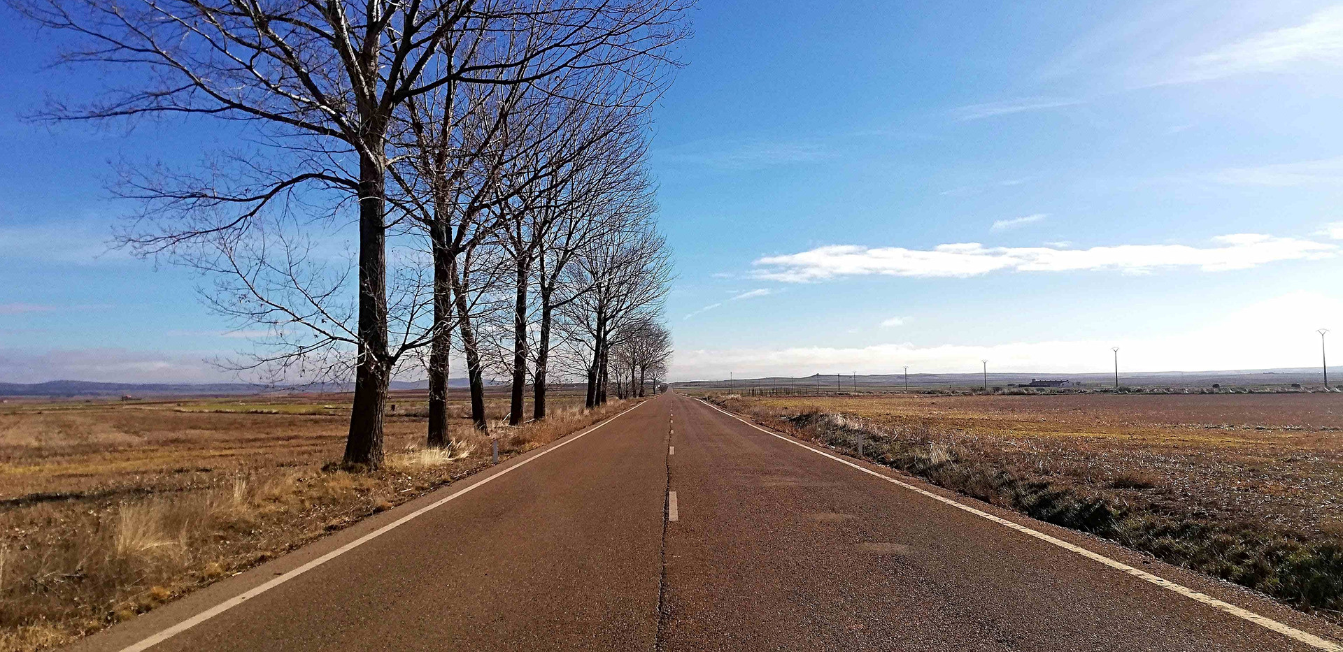 Carretera recta / Straight road