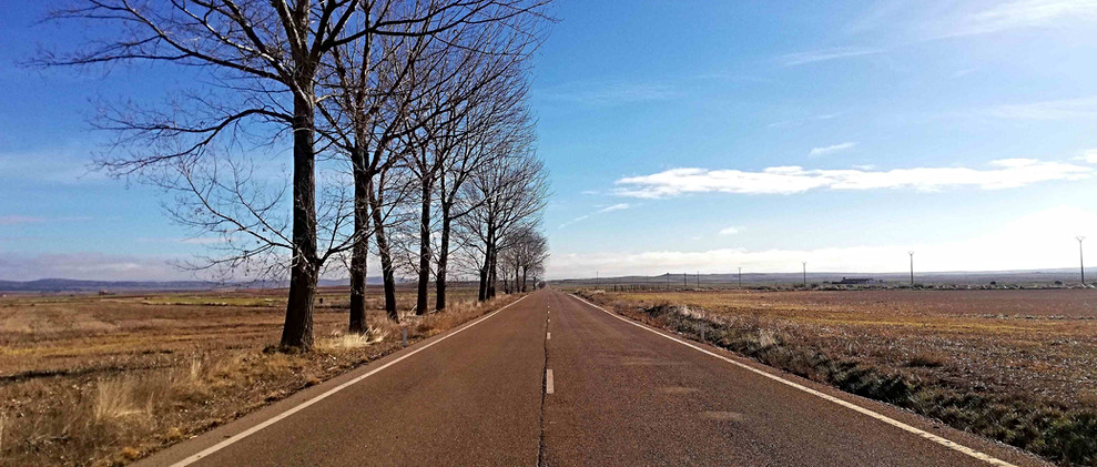 Carretera recta / Straight road
