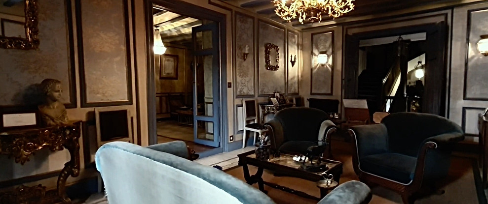 Salón decoración francesa  / French decoration lounge