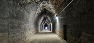 Antiguo tunel de ferrocarril