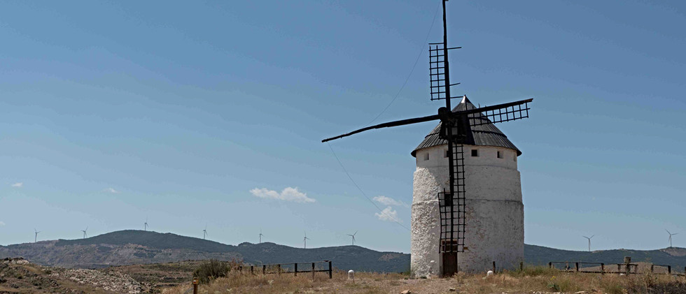 Molino siglo XV / 15th Windmill