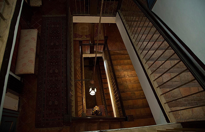 Escaleras Palacio S XVIII / 17th century palace stairs
