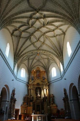 Interior Iglesia de Santa Ana - Mainar