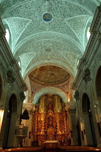 Interior Iglesia de San Miguel - Villarreal de Huerva
