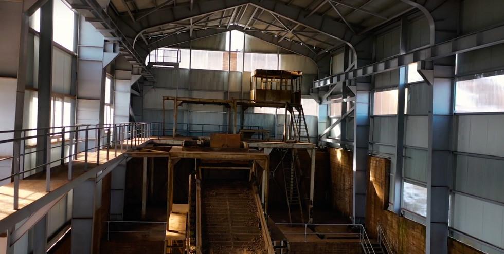 Nave clasificadora años 70 / 70s mine ship