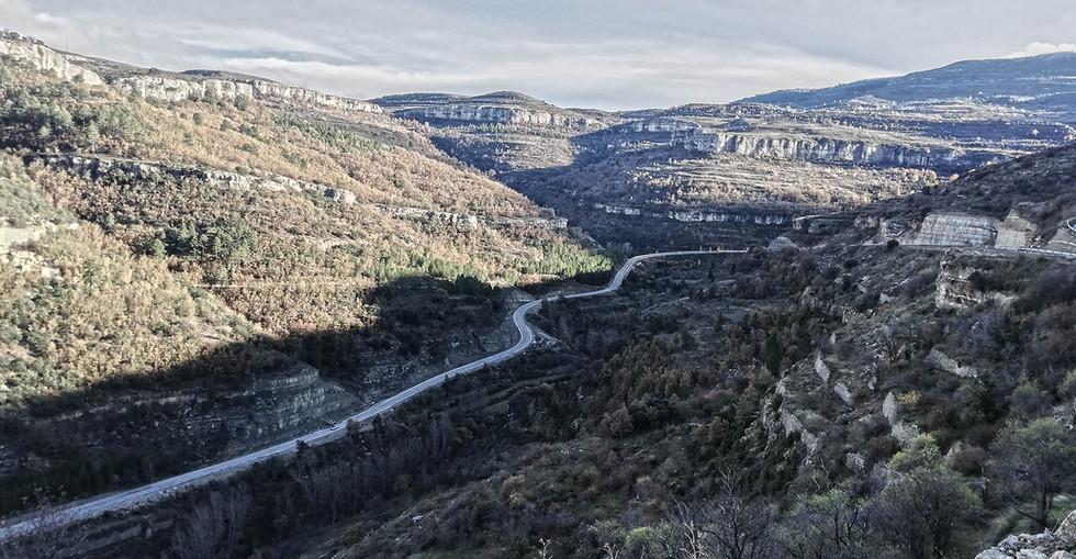 Rueda en Teruel-Shoot in Teruel- Carretera