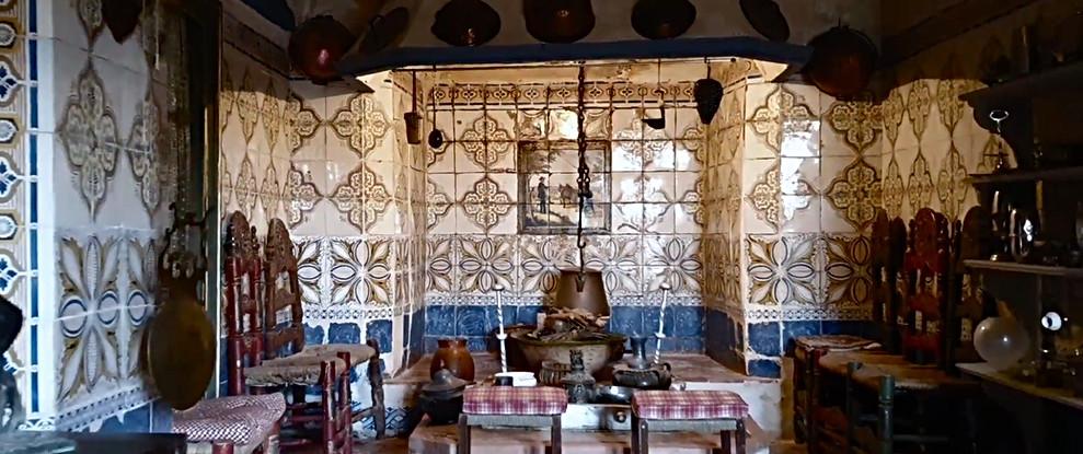Cocina fuego bajo S XVII / 17th century kitchen