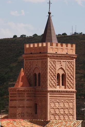 Torre Mudéjar Iglesia de San Pedro - Villar de los Navarros