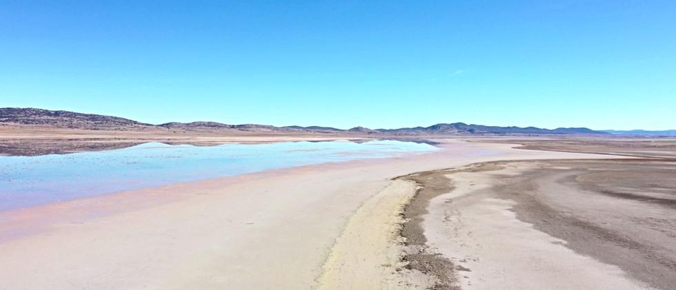 Lago salado / Salt water lake