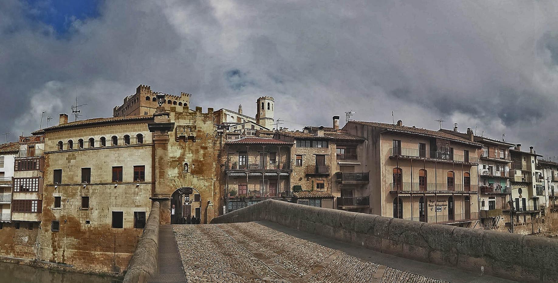 Rueda en Teruel-Shoot in Teruel- Valderrobres