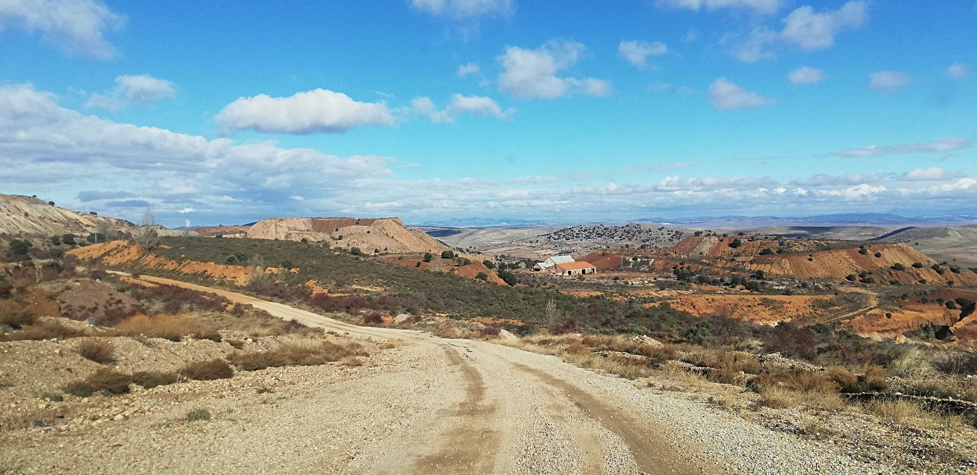 Paisaje minero / Mining landscape