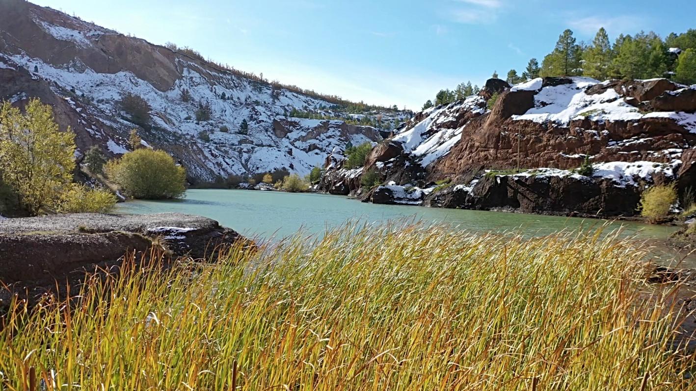 Lago Mina / Lake in the mine